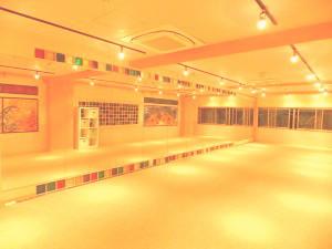 新宿だんすた3Fの画像 ダンス用リノリウム