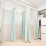 新宿  レンタルスタジオ の着替えスペース